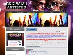 www.annuaire-artistes.net