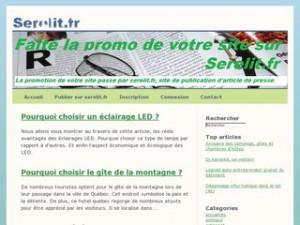 site de communiqués de presse serelit.fr