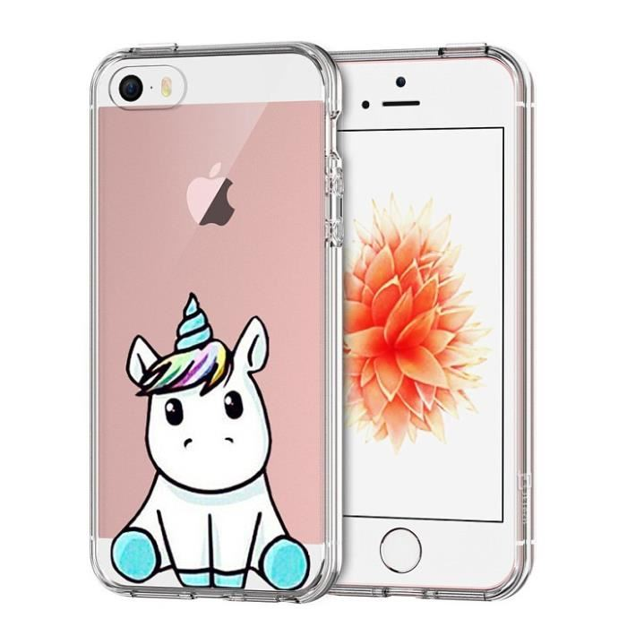 coque Spigen cute unicorn
