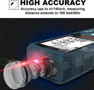 Télémètre laser numérique Dtape DT50