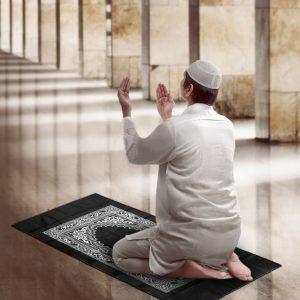 Le tapis de prière avec boussole Hitopin